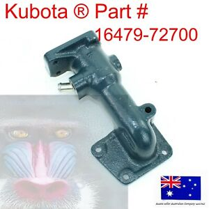 Thermostat Lower Water Flange Housing For Kubota 16479-72700 L SERIES M SERIES