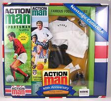 Action Man 40th Ann Tottenham Hotspurs Footballer Set (Includes Figure) AM40-TOT