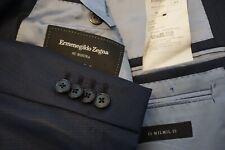 Ermenegildo Zegna Su Misura Milano CURRENT Blue wool Sport Coat Jacket Sz 46R