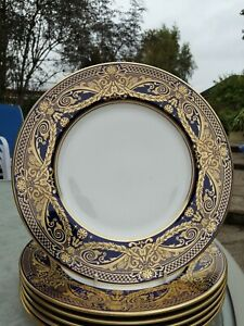 Royal Worcester HAREWOOD dinner plate (s): 1sts and unused