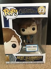 Funko Pop! Harry Potter Newt Scamander Barnes & Noble 23 New In Box FREE Ship!