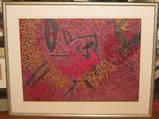 Keith Morrison 'DANCE IN AMERICA MARDI GRAS' Lithograph -Listed African American