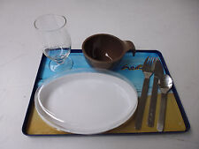 hello airlines bordservice tray set NEU!