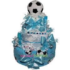 """★ Windeltorte """"Fußball""""  ★ ein tolles Geschenk zur Taufe Geburt Babyparty"""