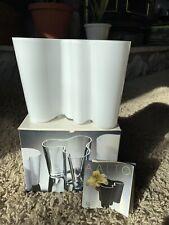 Iittala Finland Alvar Aalto Collection Large Savoy Vase White 160mm