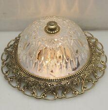 Plafonnier Ø26cm Plafonniers Style Antique Flush Mount Dome Led Lumière Lampe