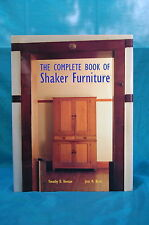 The Complete Book of Shaker Furniture by Reiman & Burks Abrams 1993