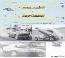 Mickey Thompson FORD NHRA Drag Decals #1957