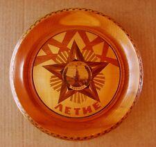 Soviet Russian Plate Order Victory WW2 Kremlin Marquetry USSR propaganda