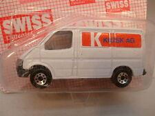1986 MATCHBOX SWISS MB-60 FORD TRANSIT VAN KIOSK AG MOC