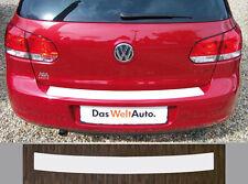 Ladekantenschutz transparent VW Golf 6 Limousine