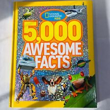 5,000 Awesome Facts by National Geographic Kids Staff (2012, Hardcover)