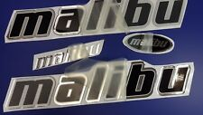 """Malibu boat Emblem 22.5"""" black + FREE FAST delivery DHL express - stickers decal"""