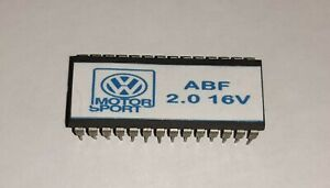 CHIP REPROGRAMACION VW GOLF III GTI 2.0 16V SEAT IBIZA CUPRA MOTOR ABF 037906024