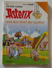 ASTERIX STICKER ALBUM # 1 - Dorf der Gallier - BASTEI VERLAG - TOPZUSTAND