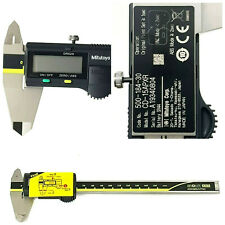 "Mitutoyo Japan 500-184-30 CALIPER DIGIMATIC ABS ABSOLUTE 6"" Vernier 150mm"