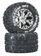 "New Duratrax Mounted Tires & Wheels DTXC3517  Sidearm 2.8"""