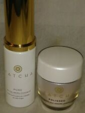 NIB TATCHA CLASSIC RICE ENZYME POWDER, 0.35OZ/10G + CLEANSING OIL 0.8OZ/25ML