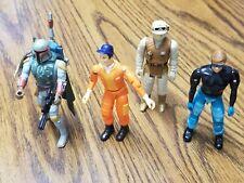 Vintage Star Wars Action Figures Boba Fett, Rebel Soldier, A-Team Murdoch Lot