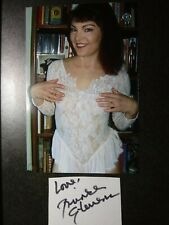 BRINKE STEVENS Authentic Hand Signed Autograph CUT With 4X6 Photo - SCREAM QUEEN