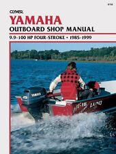 Clymer Yamaha Outboard Shop Manual 9.9-100 HP 4 Stroke 1985-1999