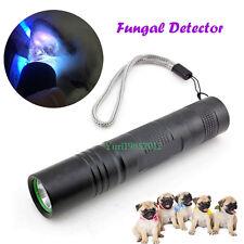 Professional Animal Cats White Ringworm Detector UV Light Wood Lamp