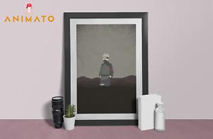 Naruto Poster Kakashi Baruto Anime NEW Manga Wall Art print design Size A4 A3 A2
