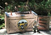 Mega Construx Call of Duty WWII Armory Shipmen Container Building Set FVG02 USED