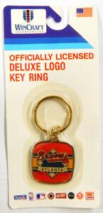 1990 Wincraft Deluxe Atlanta Braves Key Ring