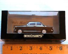 Minichamps BMW 1600 Die Cast Model Car 1:43 Black Schwartz 1966