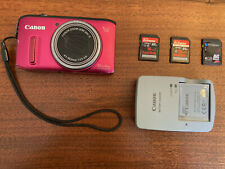 Canon PowerShot SX260 HS Digital Camera; incl. battery, charger, 3 memory cards