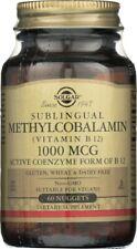 Solgar Methylcobalamin Vitamin B12 1000mcg 60 Nuggets
