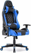 Gaming Chair Racing Office Chair High Back Computer Desk Chair PU Leather Chair
