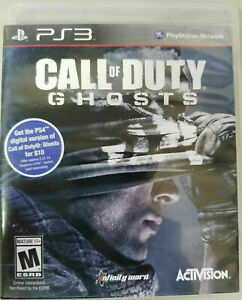 Call of Duty: Ghosts (PlayStation 3, 2013) PS3 GAME DISC & CASE SHOOTER COMBAT