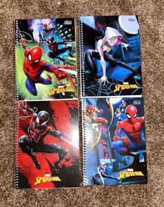 "Marvel Avenger Spiral Bound Notebook Agenda 8""x11"" 80 Sheets Volume Discount NEW"