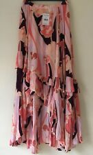 Free People Bring Back Summer Printed Maxi Skirt. Size 0.
