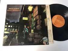 David Bowie LP The Rise And Fall Of Ziggy Stardust ORIG