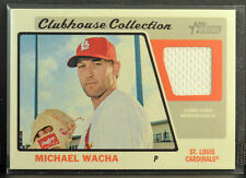 2015 MICHAEL WACHA Topps Heritage Clubhouse Collection Patch/Jersey MINT!