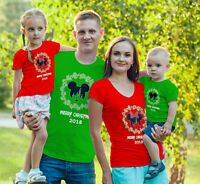 Merry Christmas Disney Family Vacation Customized Matching-Add names to shirts