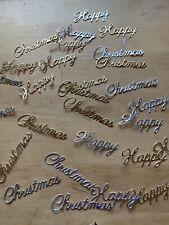 Due Cut Christmas Sentiments