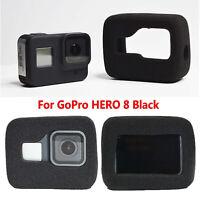 For GoPro HERO 8 Black Protective Case Body Shell Housing Foam Noise Reduction