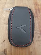 KIA Key pouch made of leather with K logo