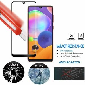 for Samsung Galaxy A51 /A52 4G /5G Full Coverage Screen Protector Tempered Glass