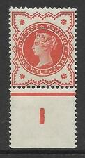 ½d Vermillion control I perf single MOUNTED MINT