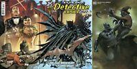 DETECTIVE COMICS 1027 Andy Kubert Wraparound +Dell Otto Scarecrow DC NM 9/15