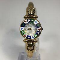 Antica Murrina Womens Veneziana Bangle Murano Glass CA'D'ORO Quartz Analog Watch