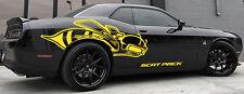 2015-2017 Passenger side SUPER BEE Scat Pack HEMI Graphics CHALLENGER MOPAR SRT