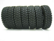 4Pcs 1/14 Climbing Rubber Tires Tyres For Tractor Truck Trailer Model Car