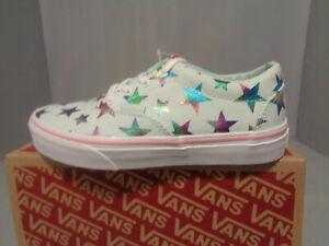 Vans Doheny Low Top Sneaker Little/Big Kid Stars Sizes NIB NEW Think Spring!