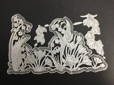 Metal Cutting Dies, Crocus, fits Carnation crafts Crocus Chorus